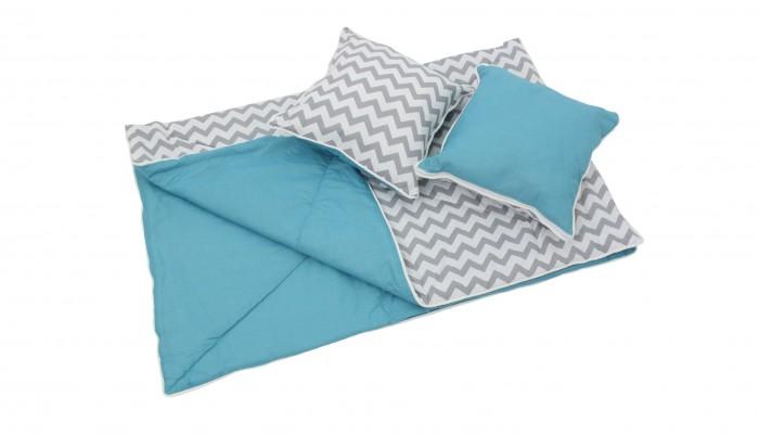 Палатки-домики Polini Одеяло и подушки для вигвама Зигзаг матрасы  подушки и одеяла
