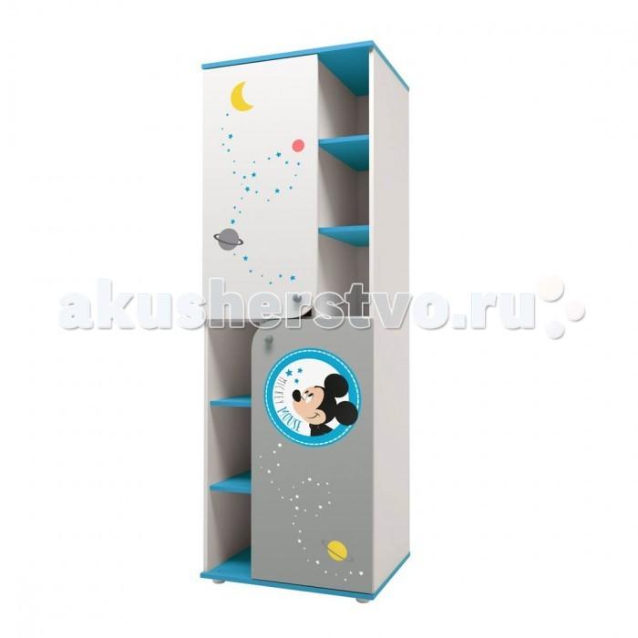 Детская мебель , Шкафы Polini Пенал Disney Baby Микки Маус арт: 496746 -  Шкафы