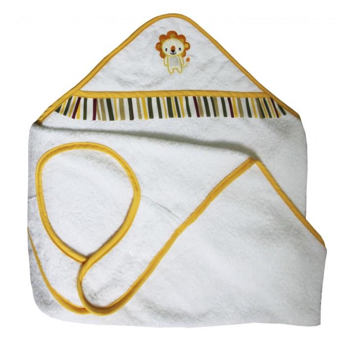 Купание малыша , Полотенца Polini Полотенце-фартук Джунгли арт: 376584 -  Полотенца