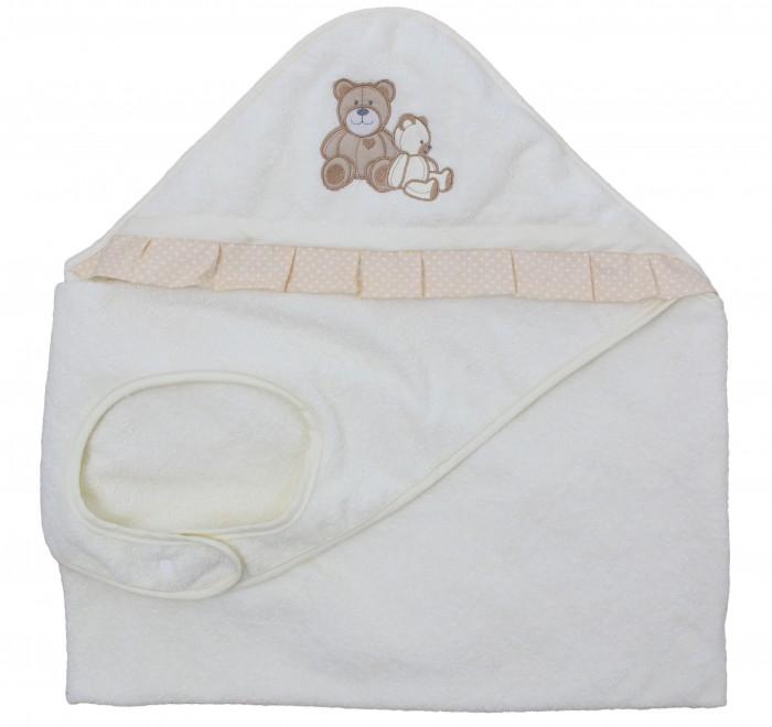 Купание малыша , Полотенца Polini Полотенце-фартук Плюшевые мишки арт: 376634 -  Полотенца