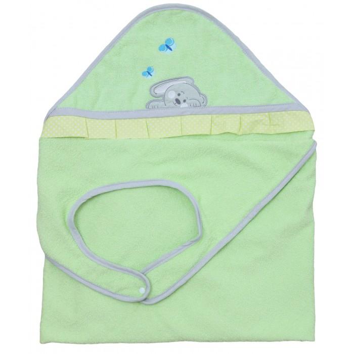 Купание малыша , Полотенца Polini Полотенце-фартук Зайки арт: 376614 -  Полотенца