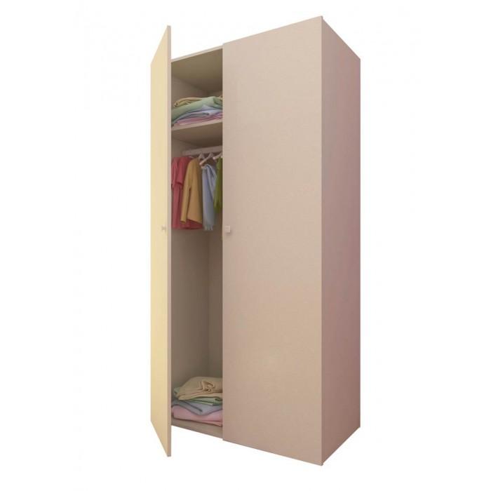 Шкаф Polini двухсекционный Simple
