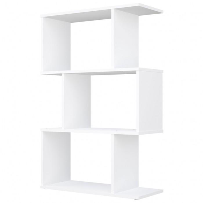 Фото - Шкафы Polini Стеллаж Home Smart фигурный 3 секции стеллаж 3 секции белый 0 38 0 34 1 11