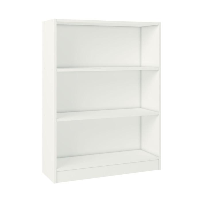 Фото - Шкафы Polini Стеллаж Home Smart Вертикальный 3 секции 106х80х28 стеллаж 3 секции белый 0 38 0 34 1 11