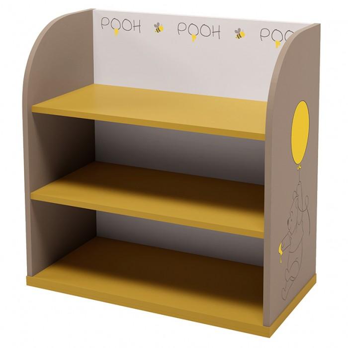 Шкаф Polini Стеллаж kids Disney baby 810 с корзинами Медвежонок Винни и его друзья