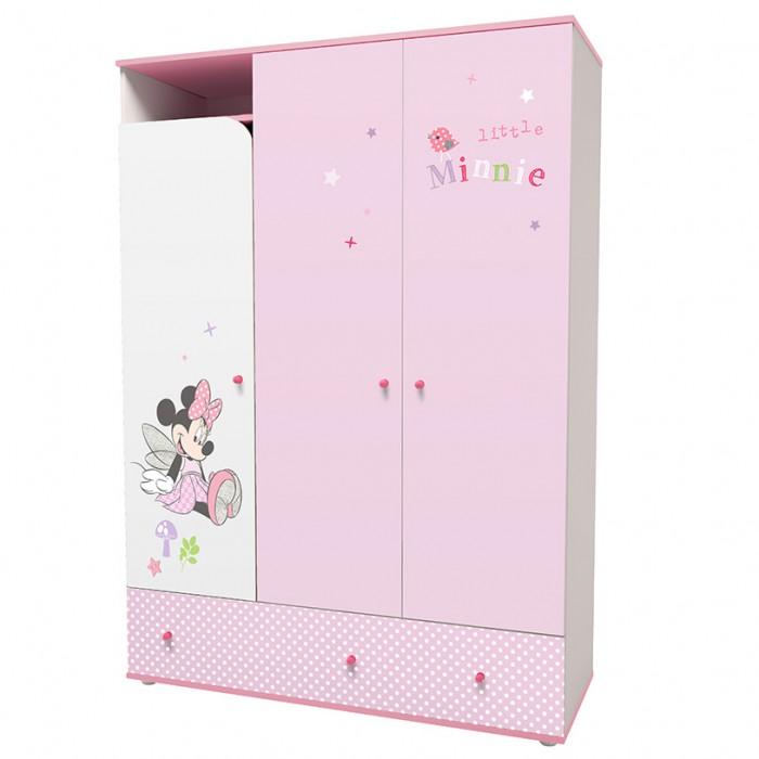 Фото - Шкафы Polini трехсекционный kids Disney baby Минни Маус-Фея с ящиками disney игрушка минни