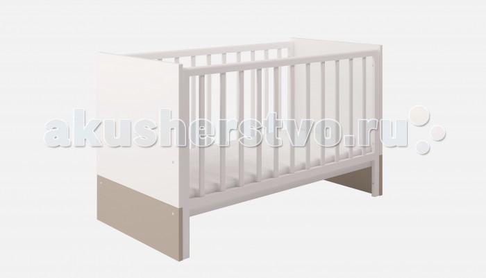 Кроватка-трансформер Polini Classic 140х70 см