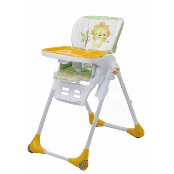 Стульчик для кормления Polini ClassicСтульчики для кормления<br>Стульчик для кормления Polini Classic сочетает в себе все необходимые функции стульчика для кормления.  Модель рассчитана для детей в возрасте от 6-9 месяцев и до 3-х лет, которые в состоянии сидеть самостоятельно.  Особенности: Пятиточечные ремни безопасности надежно зафиксируют ребенка в сидении во избежание падений и травм Главной особенность модели является наличие колес с тормозом Колеса позволят с легкостью перемещать стульчик в помещении для полного удобства родителей Многофункциональная регулировка высоты стульчика означает, что он подходит для использования как за барной стойкой, так и с обычным столом Существует возможность откинуть спинку стула, чтобы ваш малыш смог отдохнуть Подставка для ног Регулируемая столешница с подносом Мягкий чехол стульчика легко моется Стул легко и компактно складывается для переноски и хранения Большой моющийся поднос легко регулируется и может быть снят при необходимости Максимальный вес ребенка: 15 кг