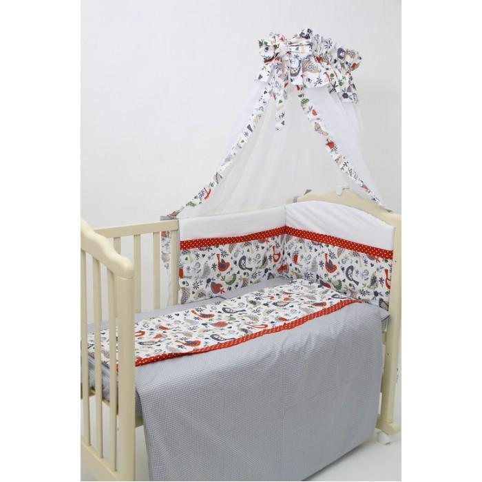 Постельные принадлежности , Бортики в кроватку Polini Кантри арт: 335120 -  Бортики в кроватку