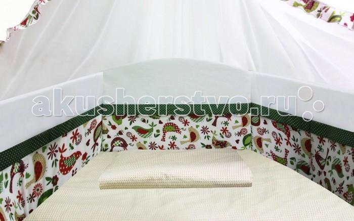 Бортики в кроватку Polini Кантри