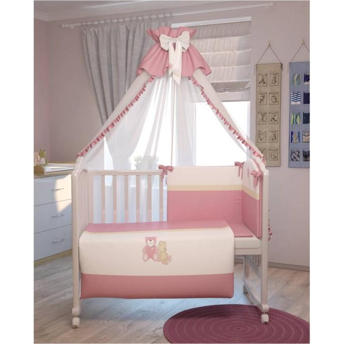 Комплекты в кроватку Polini Плюшевые мишки (7 предметов)