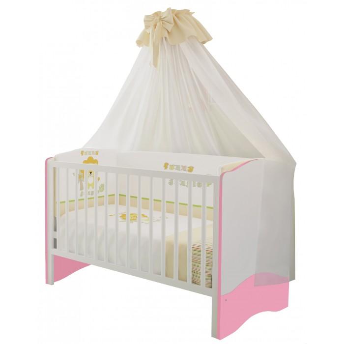 Кроватка-трансформер Polini Simple 140х70 см