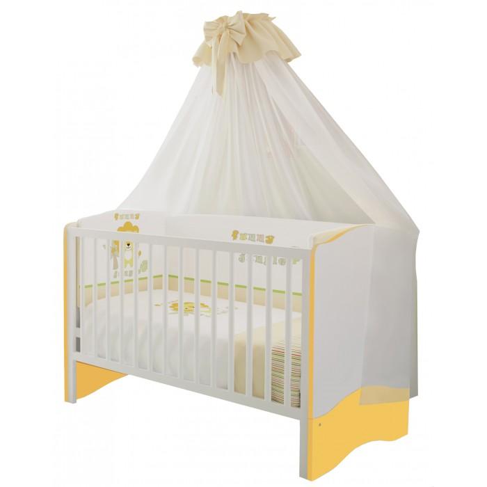 Купить со скидкой Кроватка-трансформер Polini Simple 140х70 см