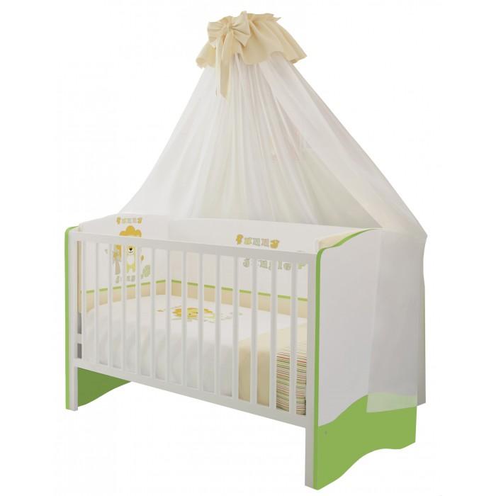 Купить Кроватки-трансформеры, Кроватка-трансформер Polini Simple 140х70 см
