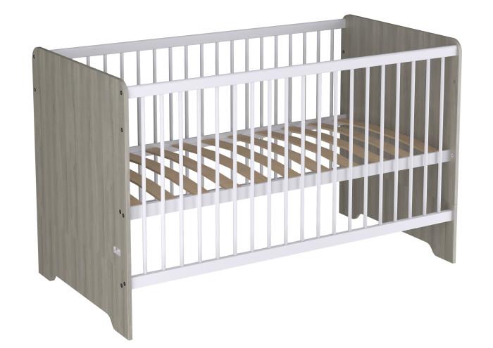 Купить Кроватки-трансформеры, Кроватка-трансформер Polini Simple Nordic 140х70 см