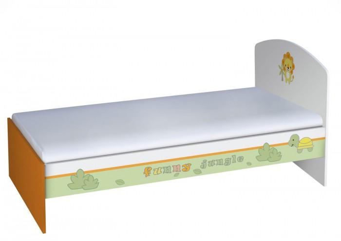 Подростковая кровать Polini Basic Джунгли 180х90 см
