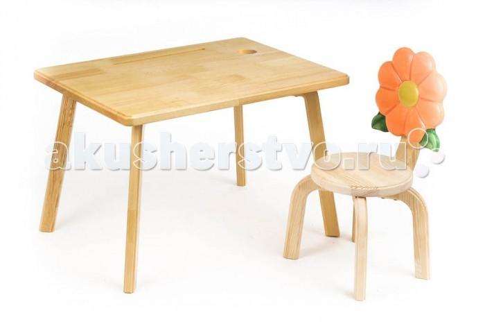 Детские столы и стулья Polli Tolli Комплект детской мебели Цветочек Маргаритка
