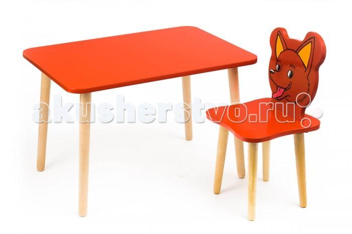 Polli Tolli Комплект детской мебели Джери с красным столиком