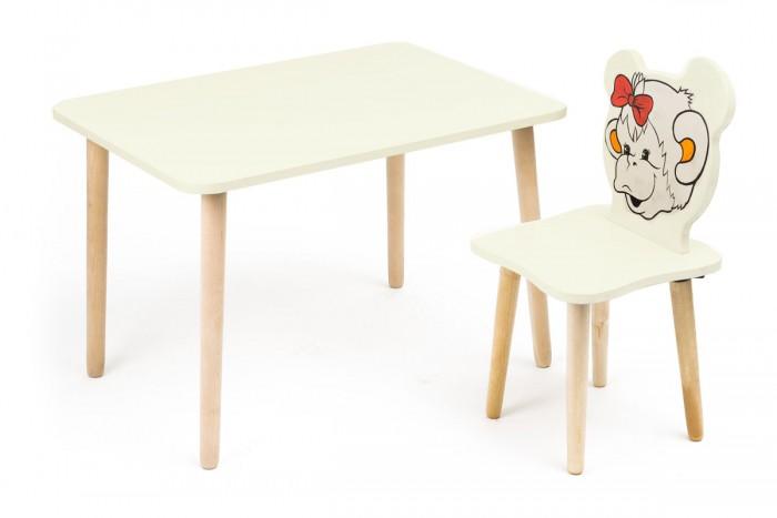 Купить со скидкой Polli Tolli Комплект детской мебели Джери с ванильным столиком