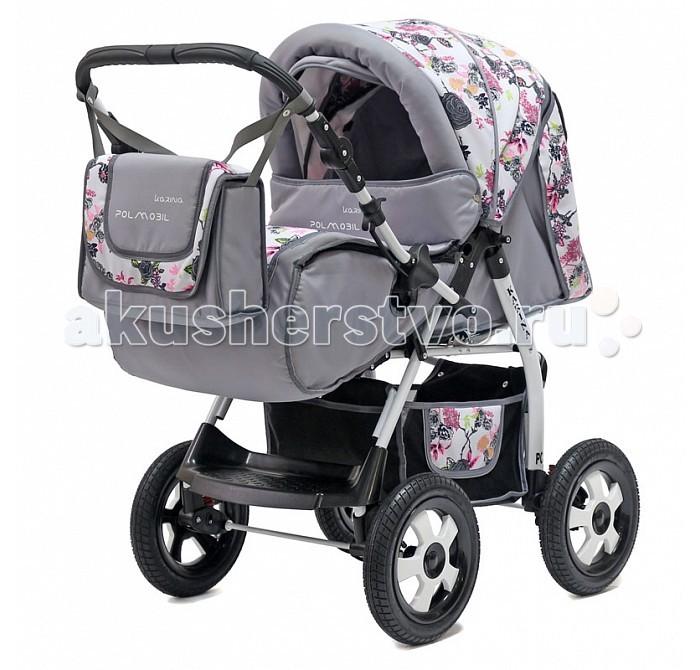 Детские коляски , Коляски-трансформеры Polmobil Karina арт: 336260 -  Коляски-трансформеры