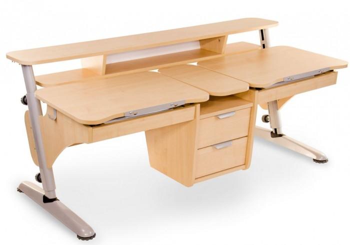 Столы и стулья Pondi Растущая парта для двоих детей (столешница клен)