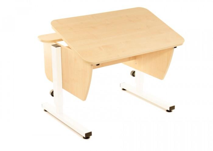 Pondi Растущая парта Школьник (столешница клен)Школьные парты<br>Pondi Растущая парта Школьник (столешница клен) эргономичная, с увеличенной рабочей поверхностью, регулируемая по высоте с современным дизайном стол для вашего ребенка.   Парта оснащена механизмом многоступенчатой регулировки высоты, ножки стола легко и быстро регулируются. Также, можно отрегулировать угол наклона столешницы, чтобы от сидения за партой не уставала спина.  Простой и очень надёжный вариант для Вашего ребенка. Парта предназначена для детей от 5-ти лет и до окончания учёбы.  Особенности: Удобная независимая задняя полка Механизм многоступенчатой регулировки высоты Высокопрочный металлический каркас Увеличенная рабочая поверхность Регулируемыйугол наклона столешницы до 30 градусов Скругленные углы для безопасности Материал: ЛДСП Ширина (см): 90 Глубина (см): 70 Высота (см): 53 - 80 Под рост ребенка от (см): 110  Под рост ребенка до (см): 180  Столешница Цельная Угол наклона: 0° - 30° Глубина задней полки (см): 15  Толщина столешницы (мм): 18  Упаковка: Вес общий (кг): 22 Количество коробок (шт): 2  Вес коробки №1 (кг): 13.5  Вес коробки №2 (кг): 10 Габариты коробки №1 (см): 50 х 80 х 7 Габариты коробки №2 (см): 50 х 100 x 9