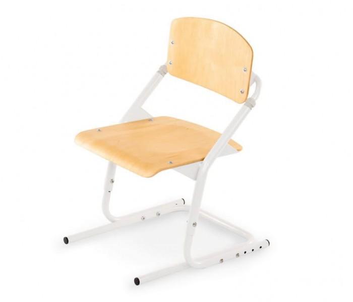 Pondi Растущий стул КленДетские столы и стулья<br>Pondi Растущий стул (цвет клен)  Эксклюзивная новинка фабрики Pondi - регулируемый стул,прекрасное дополнение к растущим партам. Главное свойство этого стула – его эргономичное устройство. Высоту спинки, высоту стула, а так же глубину сиденияв нем можно настроить в зависимости от роста пользователя, что обеспечиваетправильное положение тела ребенка во время занятий.  Удобство и безопасность пользования обеспечивается за счет особого устройства металлической конструкции стула. На таком стулераскачиваться невозможно, а изгибы каркаса позволяют расположиться с комфортом. Сиденье и спинкаслегка вогнуты, а все углы и кромки тщательно обработаны—скруглены.  Настуле-трансформереPondiребенок не сможет крутиться и раскачиваться нанося вред позвоночнику.Сидение и спинка изготовлены из прочной фанеры. Стулья сделаны с соблюдением европейских норм гигиены и стандартов качества безопасности для детских товаров.  Пошаговая регулировкавысоты сиденья от пола, позволят максимально точно настроить стул под любого пользователя.Регулировки этого стула могут производитьтолько взрослые.  Особенности: Регулируется в трех плоскостях Легче своих аналогов Удобная ручка для переноски Эргономичная форма сиденья и спинки стула Максимальная нагрузка 90 кг. Предназначен для роста от98 см до 170 см Ширина (см): 40; Глубина (см): 47 - 56; Высота (см): 59 - 76