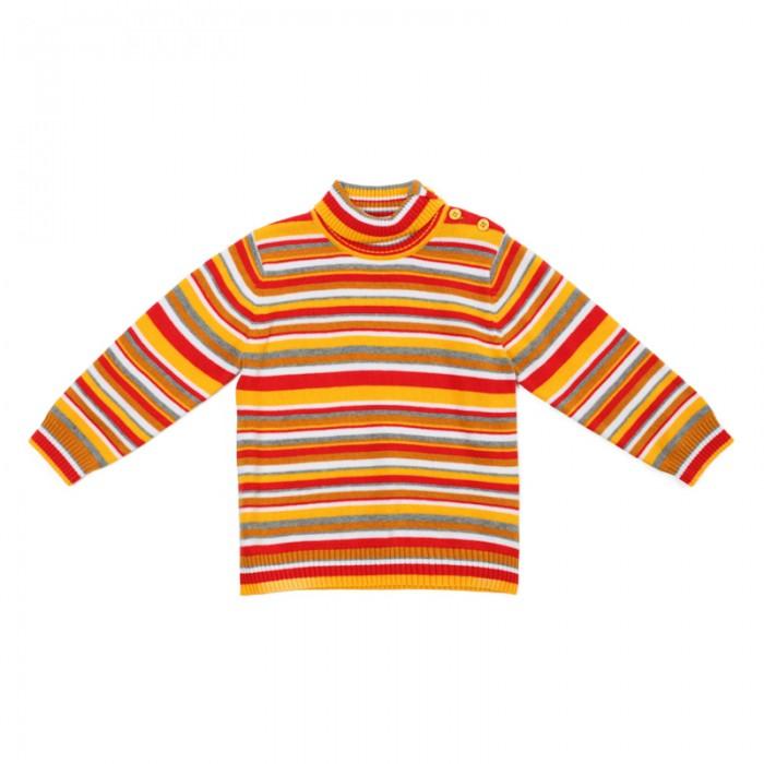 Джемперы, свитера, пуловеры Playtoday Свитер для девочек Золотой сад 388011, Джемперы, свитера, пуловеры - артикул:576596