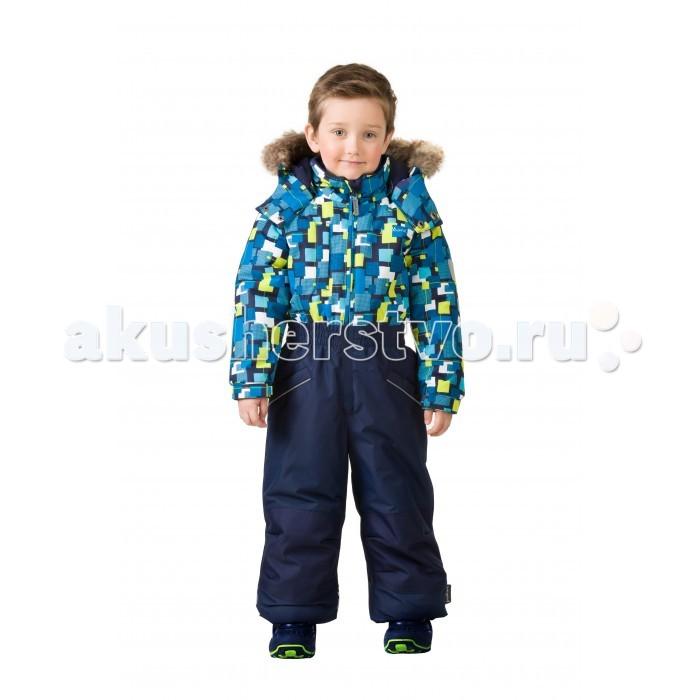 Детская одежда , Утепленные комбинезоны и комплекты Premont Комбинезон зимний слитный Город будущего Sport арт: 406609 -  Утепленные комбинезоны и комплекты