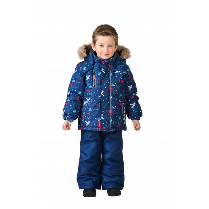 Premont Комплект зимний (куртка и брюки) Космос ХэдфилдаКомплект зимний (куртка и брюки) Космос ХэдфилдаPremont Комплект зимний (куртка и брюки) Космос Хэдфилда для вашего малыша.  Особенности куртки:  Съёмный капюшон  и отстёгивающийся  мех - на молниях;  Внешняя ветрозащитная планка на липучках;  Внутренняя эластичная манжета;   Внутренняя снегозащитная юбка;  Два кармана на липучках;  Внутренняя этикетка с местом для имени;  Капюшон застегивается на две кнопки на подбородке;  Светоотражающие элементы.   Особенности п/комбинезона, брюк:  Карман на молнии на полукомбинезоне/брюках;  Внутреняя защитная эластичная гетра, Регулировка длины брючин;  Усиление брюк в местах повышенного трения вторым слоем ткани Cordura;  Эластичные лямки с регулировкой длины;  П/комбинезон с высокой грудкой с 2 до 6х, брюки со съемными лямками и спинкой  с 7 до 14 .   Ткань верха (куртка): Taslan, мембрана 5000 мм;   Ткань верха (п/комбинезон, брюки):  Taslan; мембрана 5000 мм;  Подклад: Taffeta, Polar fleece;  Утеплитель: Tech-Polyfill 280 г (куртка),  180 г(п/комбинезон, брюки).   Таслан – это инновационная синтетическая ткань, на которую наносится специальное покрытие, имеющее «дышащую» структуру. Свои высокие защитные характеристики эта ткань образует благодаря специальному полимерному слою, который наносится на нее с внутренней стороны. Пористая структура данного полимера не пропускает холодный воздух и воду с внешней стороны, однако обеспечивает отведение наружу воздуха и водяных паров, и к тому же препятствует впитыванию выделений кожи.<br>