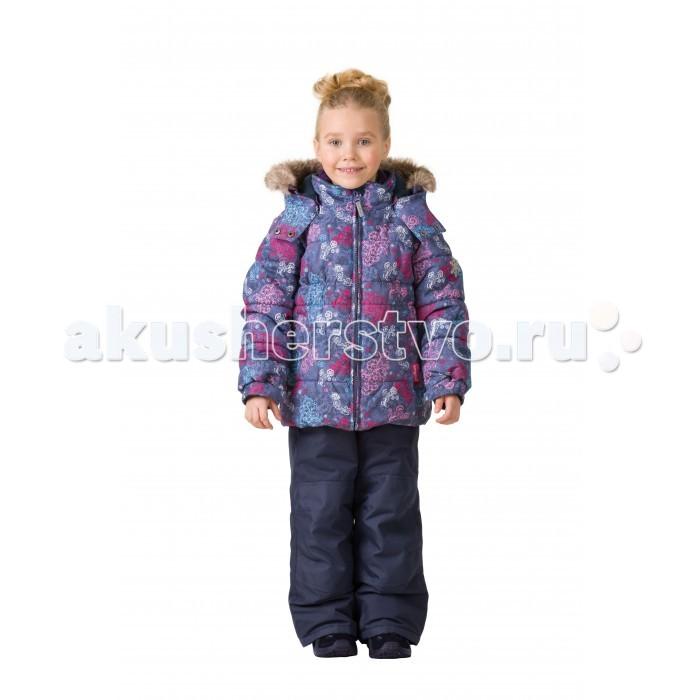 Premont Комплект зимний (куртка и брюки) Кружево МандирКомплект зимний (куртка и брюки) Кружево МандирPremont Комплект зимний (куртка и брюки) Кружево Мандир для вашего малыша.  Особенности куртки:  Съёмный капюшон  и отстёгивающийся  мех - на молниях;  Внешняя ветрозащитная планка на липучках;  Внутренняя эластичная манжета;   Внутренняя снегозащитная юбка;  Два кармана на липучках;  Внутренняя этикетка с местом для имени;  Капюшон застегивается на две кнопки на подбородке;  Светоотражающие элементы.   Особенности п/комбинезона, брюк:  Карман на молнии на полукомбинезоне/брюках;  Внутреняя защитная эластичная гетра, Регулировка длины брючин;  Усиление брюк в местах повышенного трения вторым слоем ткани Cordura;  Эластичные лямки с регулировкой длины;  П/комбинезон с высокой грудкой с 2 до 6х, брюки со съемными лямками и спинкой  с 7 до 14 .   Ткань верха (куртка): Taslan, мембрана 5000 мм;   Ткань верха (п/комбинезон, брюки):  Taslan; мембрана 5000 мм;  Подклад: Taffeta, Polar fleece;  Утеплитель: Tech-Polyfill 280 г (куртка),  180 г(п/комбинезон, брюки).   Таслан – это инновационная синтетическая ткань, на которую наносится специальное покрытие, имеющее «дышащую» структуру. Свои высокие защитные характеристики эта ткань образует благодаря специальному полимерному слою, который наносится на нее с внутренней стороны. Пористая структура данного полимера не пропускает холодный воздух и воду с внешней стороны, однако обеспечивает отведение наружу воздуха и водяных паров, и к тому же препятствует впитыванию выделений кожи.<br>