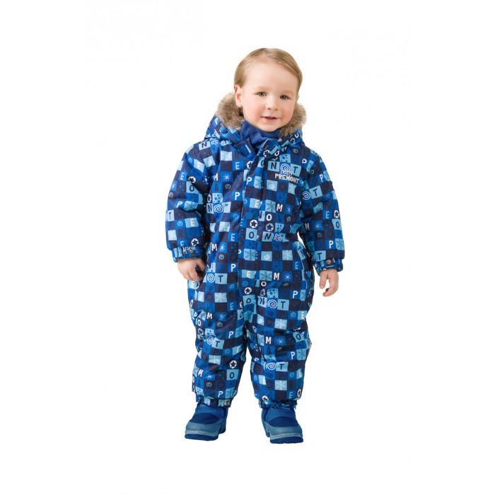 Комбинезоны и полукомбинезоны Premont Зимний комбинезон для малышей Голубые льдинки premont брюки premont