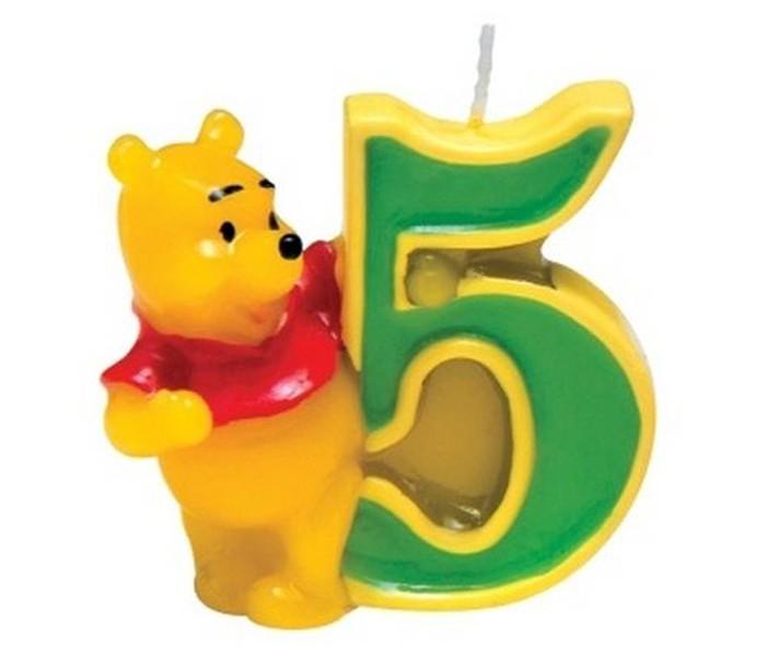 Товары для праздника Procos Объемная свечка procos свечи для торта детские объемная свечка микки с цифрой 0