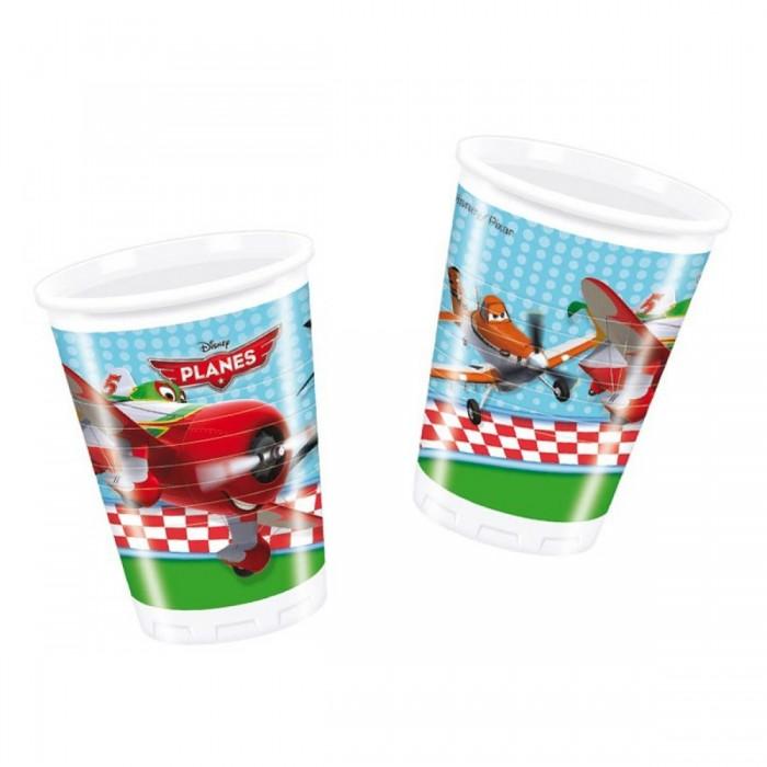 Товары для праздника Procos Стаканы пластиковые 180 мл 8 шт. коммутатор mikrotik rbd52g 5hacd2hnd tc