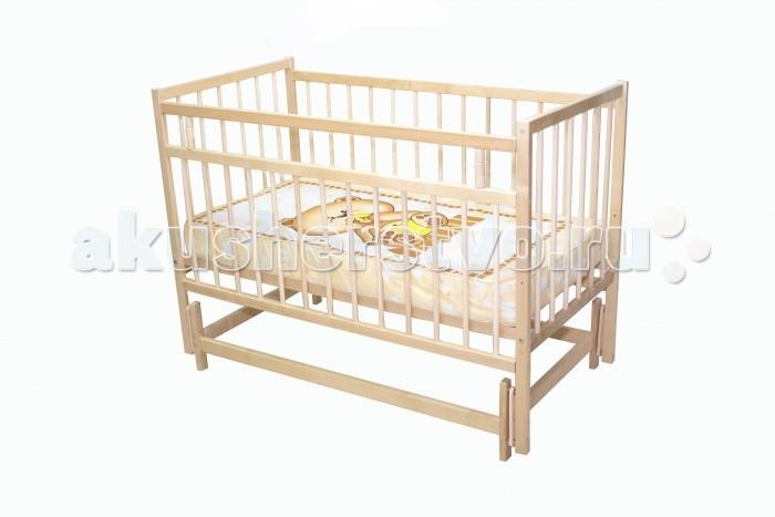 Детская мебель , Детские кроватки Промтекс Колибри-мини МП маятник поперечный арт: 460346 -  Детские кроватки