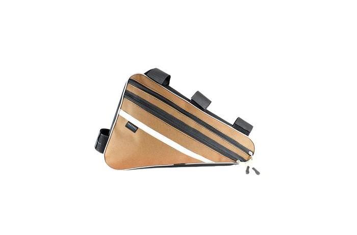 Аксессуары для велосипедов и самокатов Protect Велосумка под раму со световозвращающей лентой 40х27х6 см