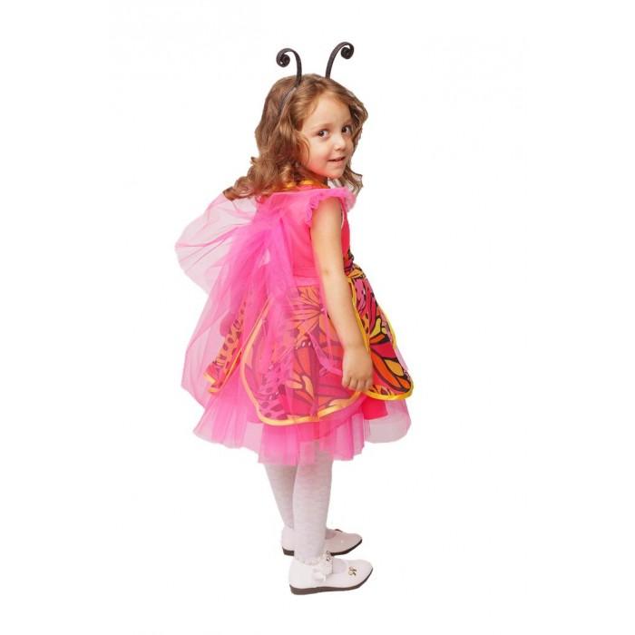 Пуговка Карнавальный костюм Бабочка Веселая Полянка фото