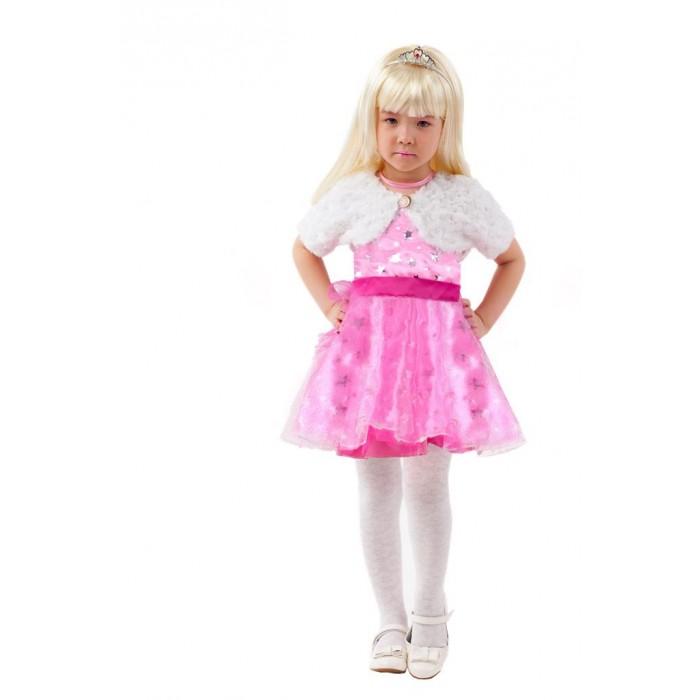 Карнавальные костюмы Пуговка Карнавальный костюм Барби Сказочный маскарад комплект платье болеро ladetto комплект платье болеро