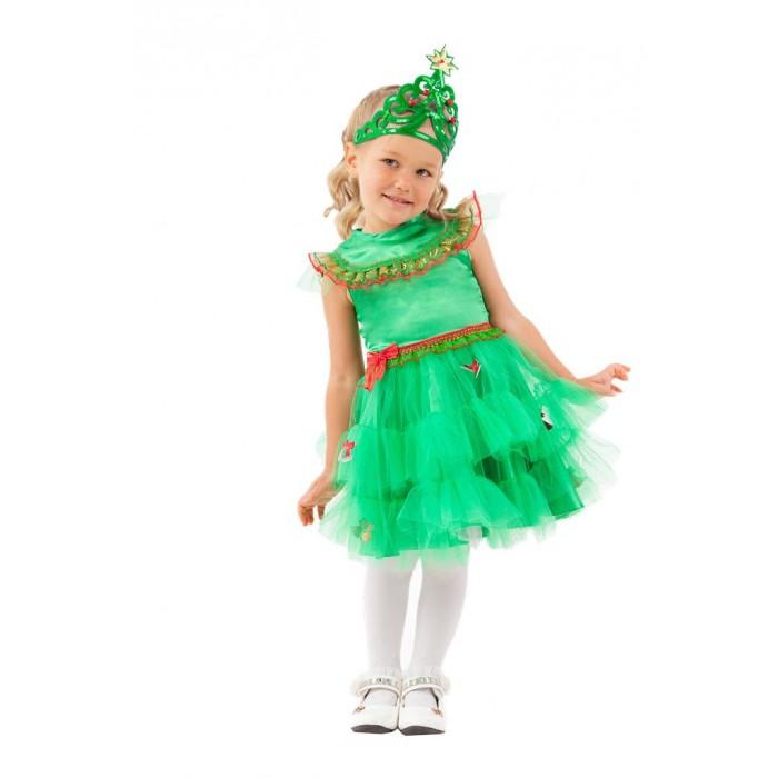 Купить Карнавальные костюмы, Пуговка Карнавальный костюм Елочка Сказочный маскарад