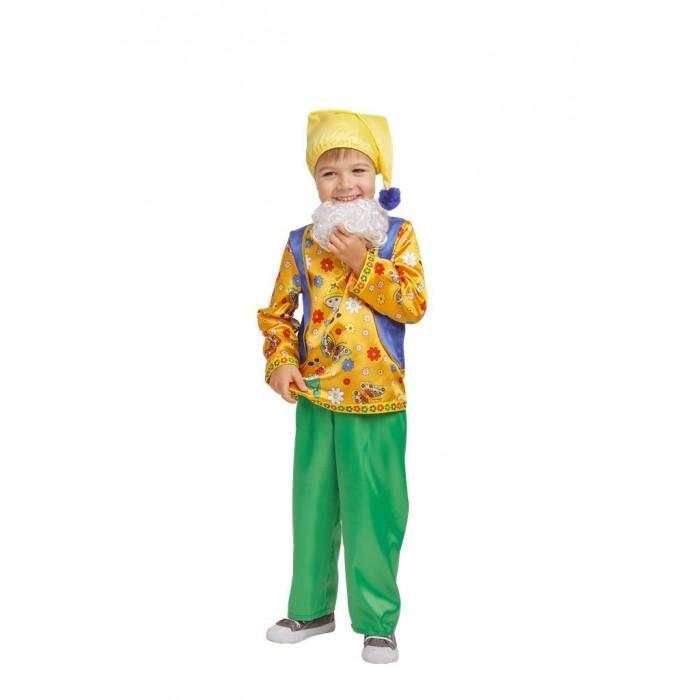 Пуговка Карнавальный костюм Гном Кузьма Русские сказки фото