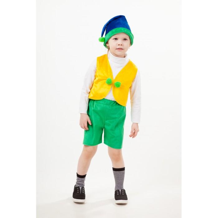 Купить Карнавальные костюмы, Пуговка Карнавальный костюм Гномик Гоша Сказочный лес
