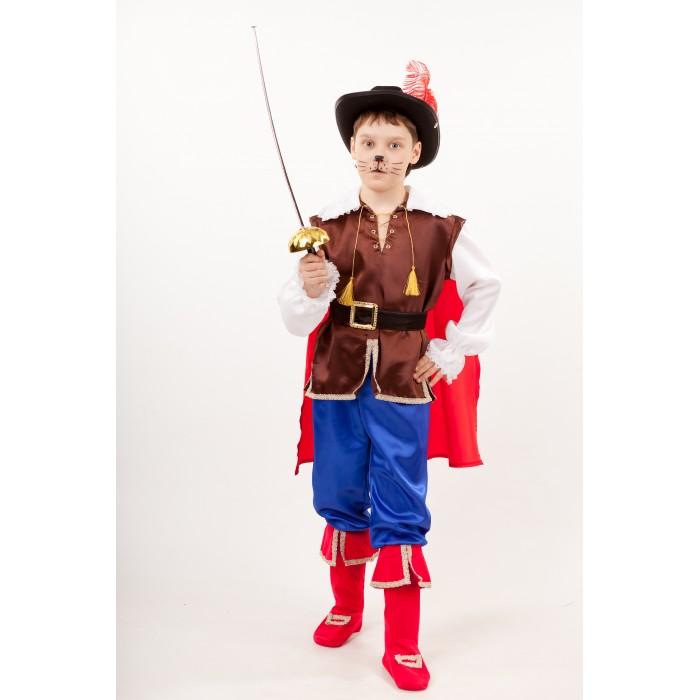 Картинка для Пуговка Карнавальный костюм Кот в сапогах Сказочный маскарад