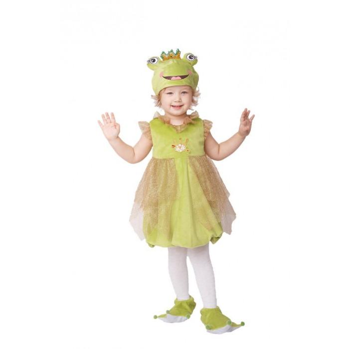 Пуговка Карнавальный костюм Лягушка Златка Плюшки-Игрушки