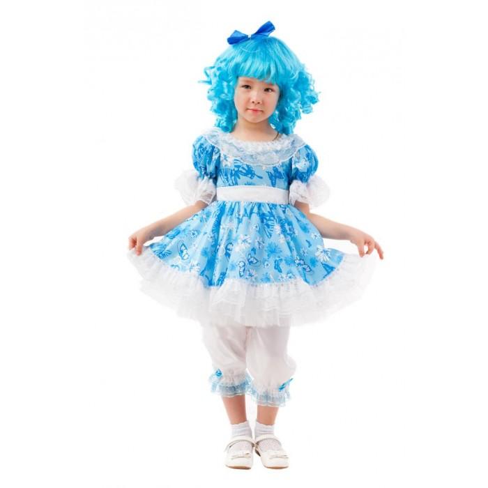 Картинка для Пуговка Карнавальный костюм Мальвина Сказочный маскарад 2091 к-20