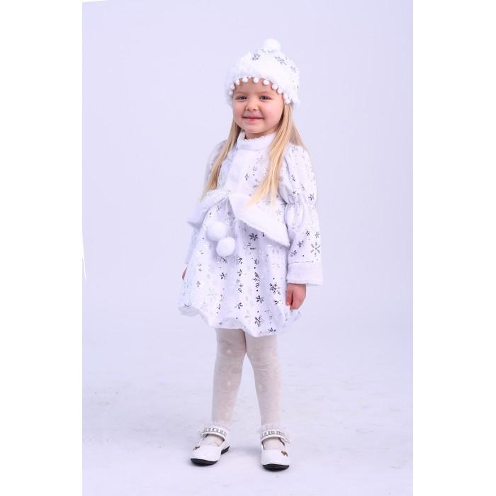 Карнавальные костюмы Пуговка Карнавальный костюм Малышка Снегурочка Новогодняя сказка