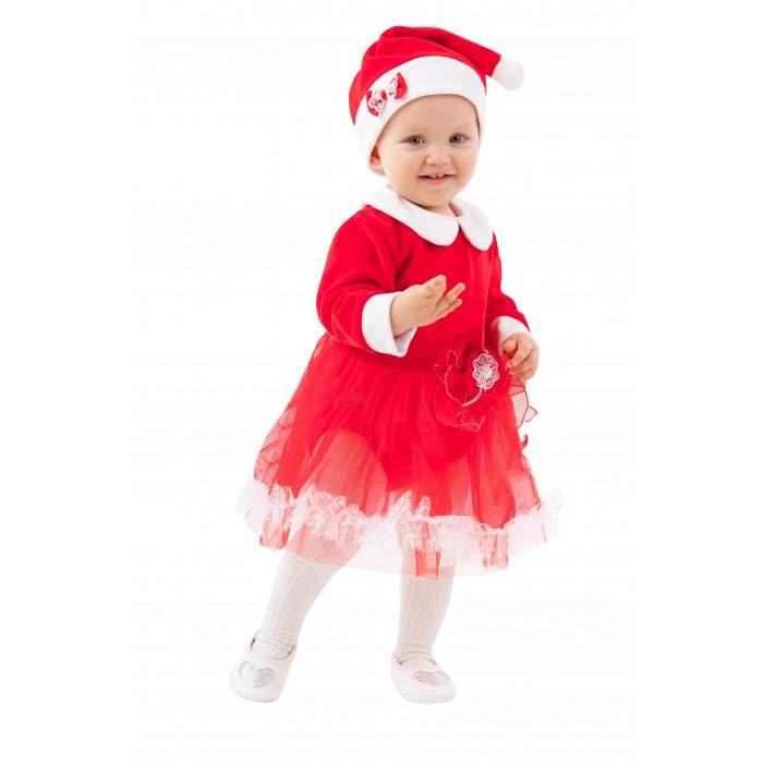 Карнавальные костюмы Пуговка Карнавальный костюм Мисс Санта Ладушки-Игрушки 60010 к-20 костюм мисс мафиози 50