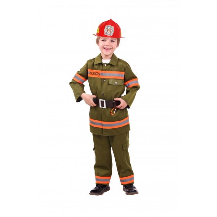 Пуговка Карнавальный костюм Пожарный Профессии