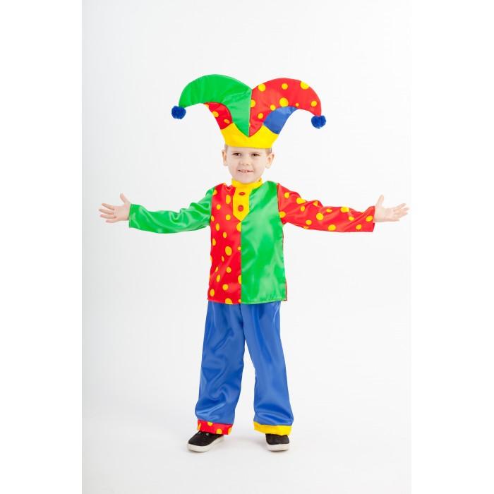 Картинка для Пуговка Карнавальный костюм Скоморох гороховый Русские сказки