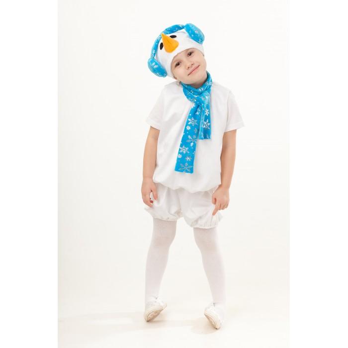 Купить Карнавальные костюмы, Пуговка Карнавальный костюм Снеговик Крош Сказочный лес