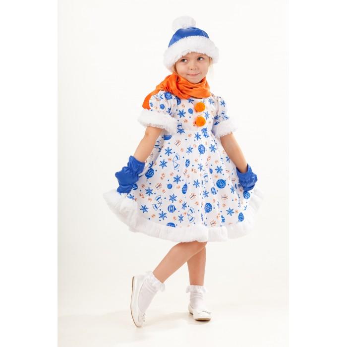 Картинка для Пуговка Карнавальный костюм Снеговик Снежана Русские сказки